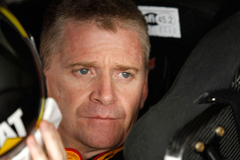 """The Mayor"" Jeff Burton, driver of the #31 Caterpillar Chevrolet for Richard Childress Racing"