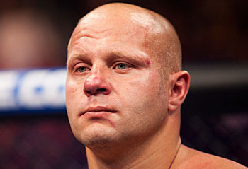 Fedor Emelianenko; photo cred: Esther Lin for Strikeforce