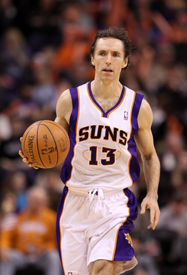 Steve Nash is 37 years old and still leads the NBA in assists.