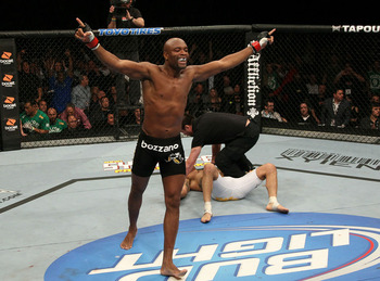 Anderson Silva; photo cred: mmamania.com