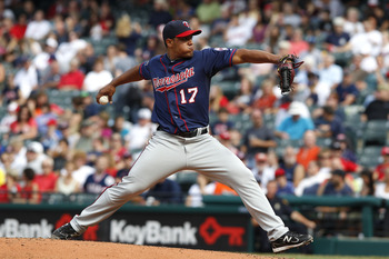 Lester Oliveros could develop into a bullpen option for the Twins in 2012.