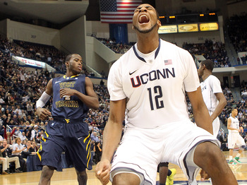UConn Center Andre Drummond