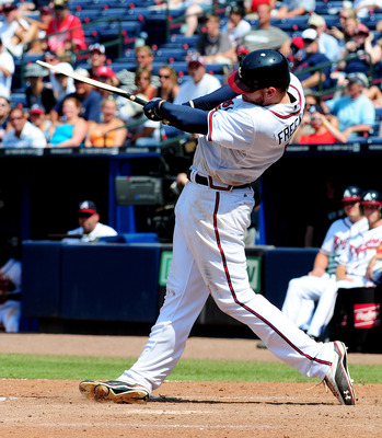Freddie Freeman could take Chipper Jones' spot in the lineup.