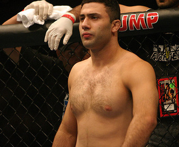 Karo Parisyan/ photo cred: Scott Petersen for MMAWeekly.com
