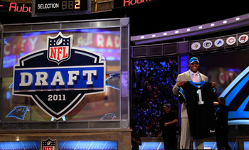 No. 1 draft pick, Cam Newton (1).