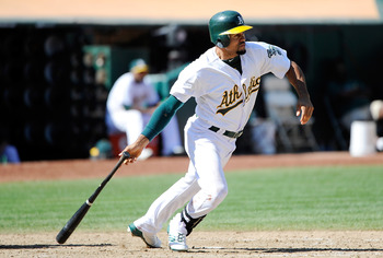 At least Coco Crisp is back, so the A's aren't a total loss.