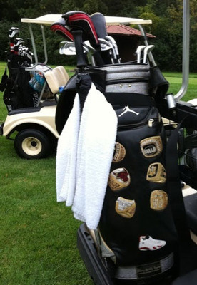 Michael Jordan's Six Ring Golf Bag
