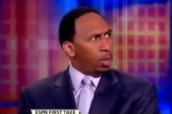 Stephen A. Smith adding dramatics into his reporting style that turn off rather than enhance.