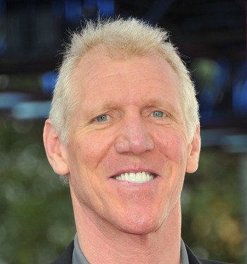 Bill Walton can ruin any broadcast with his blatant favoritism.