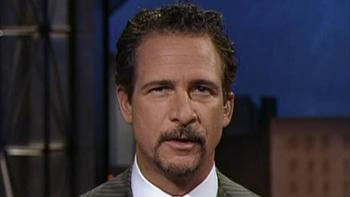 Jim Rome on the set of his show, Jim Rome is Burning.