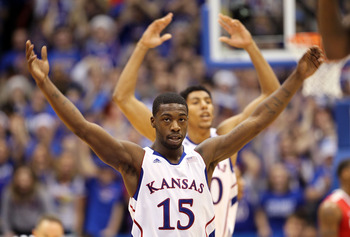 Kansas PG/SG Elijah Johnson