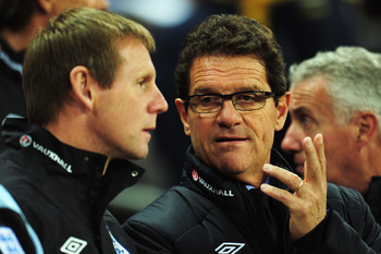 Stuart Pearce, Here with Capello