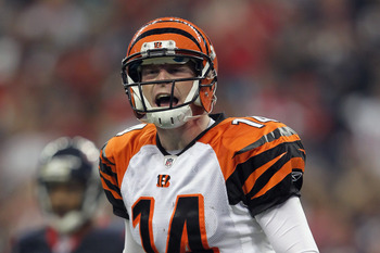 Andy Dalton was the only rookie QB to lead a team to the playoffs.