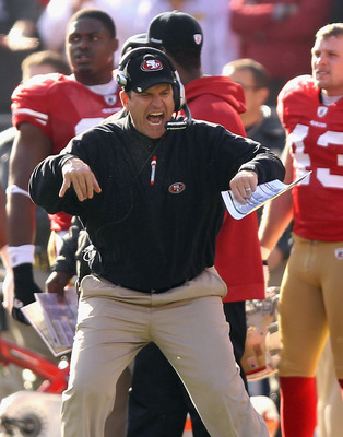 Don't expect a sophomore slump from the maniacal Jim Harbaugh.
