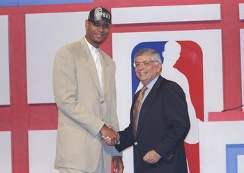 Tim Duncan was drafted number one overall by the San Antonio Spurs in June of 1997.