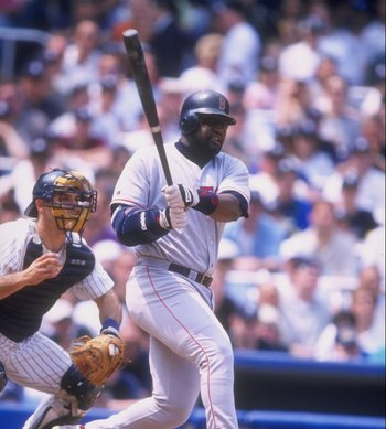 "The ""Hit Dog"" Mo Vaughn would provide a few bright spots for the 1997 Boston Red Sox."
