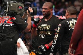 Rampage Jackson - Esther Lin/MMA Fighting