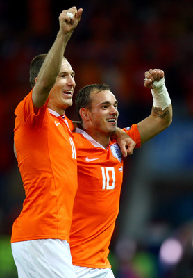 Arjen Robben is a template to Wesley Sneijder that Dutch players can win the Premier League