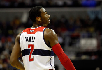 Washington Wizards PG John Wall