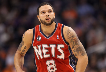 New Jersey Nets PG Deron Williams