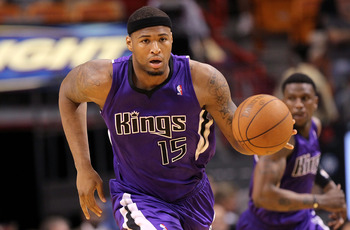 Sacramento Kings C DeMarcus Cousins