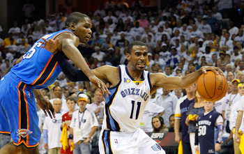 Memphis Grizzlies PG Mike Conley Jr.