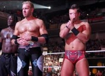 Christian and The Miz
