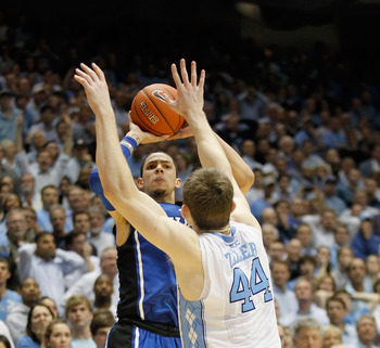Austin Rivers' buzzer-beater pulled Duke even with North Carolina and Florida State.