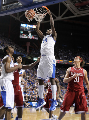 Kidd-Gilchrist is does the dirty work for Kentucky.