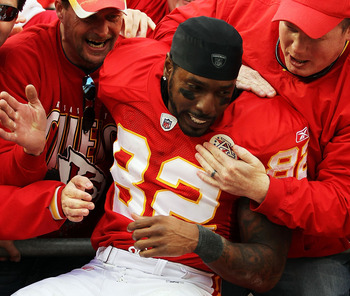 Dwayne Bowe could be leaving town in 2012.