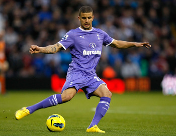 With Harry Redknapp at the helm, Kyle Walker looks a shoe-in for the coveted right back position