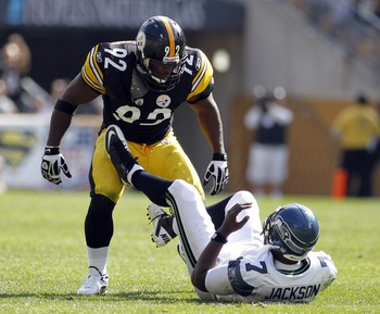James Harrison will need to stay healthy if he wants to help the Steelers' pass rush.
