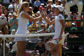 Clijsters and Henin was magnificent tennis, but overlooked.