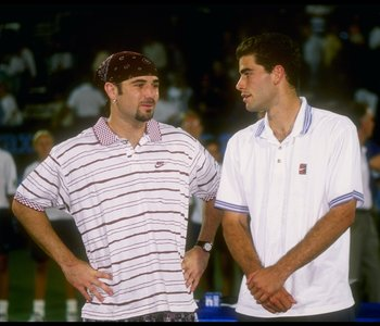 Maybe Agassi should have worn his pirate outfit a few more times against Sampras.