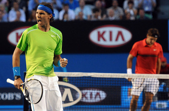 The familiar saga of Nadal's dominance over Federer continues.