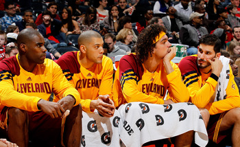 Jamison, Parker and Varejao are the Cavaliers' veteran leaders.