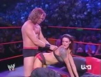 Wrestler sex bed