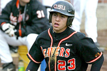 Ellsbury led Oregon State to its first College World Series appearance in 2005.
