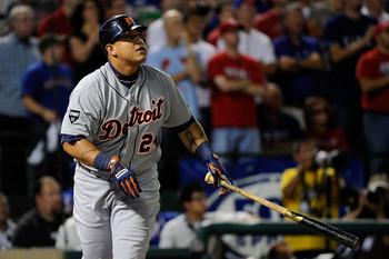 Miguel Cabrera will have to strengthen his defense at third for 2012