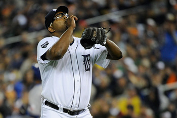 Jose Valverde had one of the best seasons for a reliever in Tigers history in 2011