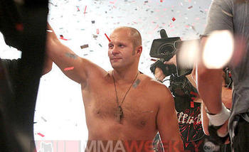 Fedor Emelianenoko/ Ken Pishna for MMAWeekly.com