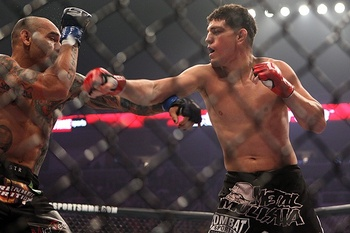 Nick Diaz (right)/ Dave Mandel for Sherdog.com