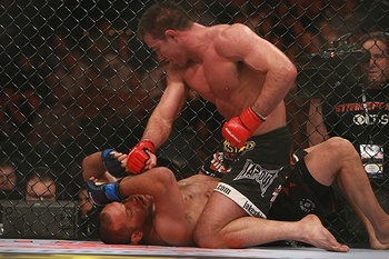 Jake Shields (top)/ Dave Mandel for Sherdog.com