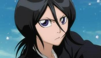 Image Taken From: http://en.wikipedia.org/wiki/File:RukiaAnime.jpg: A picture of the character Rukia Kuchiki from the anime series Bleach; character designs by Tite Kubo.
