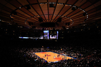 MSG is the place to be when the Knicks are winning.