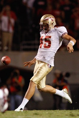 Florida State Punter Shawn Powell