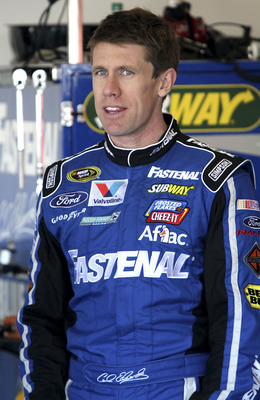 Carl Edwards must still be feeling like he let the championship slip away