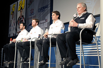 Hendrick Motorsports will show why they are the top team in NASCAR