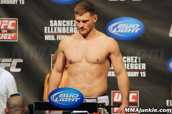 Stipe Miocic, photo thanks to MMAjunkie.com.
