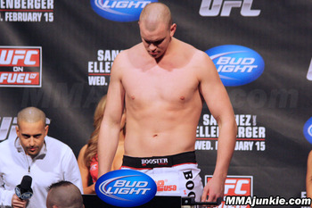 Stefan Struve, photo thanks to MMAjunkie.com.